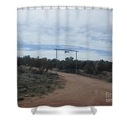 Ranch Entryway Shower Curtain
