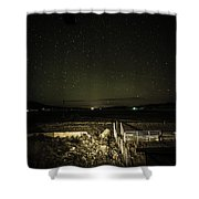 Ranch Fence Shower Curtain