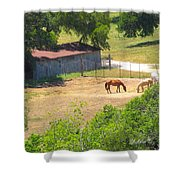 Ranch Life Shower Curtain