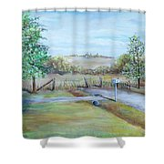 Ranch Rd Shower Curtain