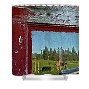 Ranch Reflection Shower Curtain