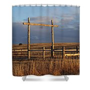 Ranch Shower Curtain