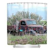 Ranch Truck Shower Curtain