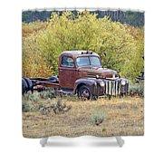 Ranch Truck II Shower Curtain