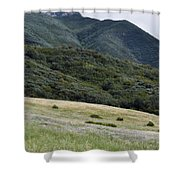 Rancho Sierra Vista Satwiwa Mountains Portrait Shower Curtain