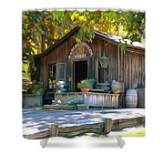 Rancho Sisquoc Winery Shower Curtain