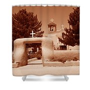 Ranchos De Taos Church   New Mexico Shower Curtain