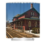 Randolf Depot Shower Curtain