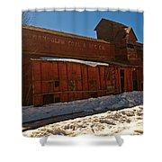 Randolph Coal And Ice Shower Curtain