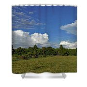 Randolph County Evening Storms Shower Curtain