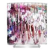Random Acts Shower Curtain