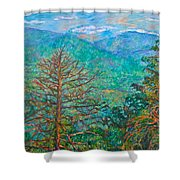 Ranges By Arnold Valley Shower Curtain