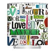 Ransom Art - Love Shower Curtain
