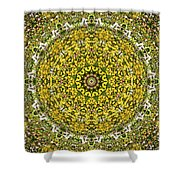 Rapeseed And Apples Shower Curtain