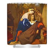 Raphael And Fornarina 1840 Shower Curtain