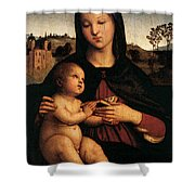 Raphael Madonna And Child C Shower Curtain