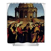 Raphael Marriage Of The Virgin Shower Curtain