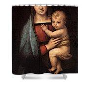 Raphael The Granduca Madonna Shower Curtain