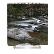 Rapids On The Washougal River Shower Curtain