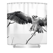 Raptor Elite Shower Curtain