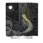 Rapunzel By Night Shower Curtain