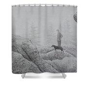 Rare Fog On Dolly Sods Shower Curtain