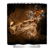 Rare Spotted Deer Shower Curtain