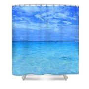 Rarotongan Shores Shower Curtain