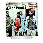 Rastaman Shower Curtain