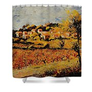 Rasteau Vaucluse  Shower Curtain