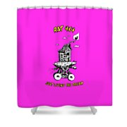 Rat 4x4 - Just Living The Dream Shower Curtain