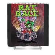 Rat Race Shower Curtain