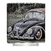 Rat Rod Beetle Shower Curtain
