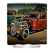 Rat Rod For Sale Shower Curtain