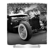 Rat Rod Looker Shower Curtain