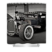Rat Rod Scene 3 Shower Curtain