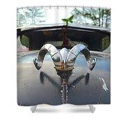 Rat Rods - 1952 Dodge Shower Curtain