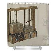 Rat Trap Shower Curtain