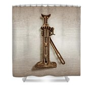 Ratchet And Screw Jack II Shower Curtain