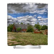 Rats Castle Farmyard  Shower Curtain