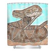 Rattler Shower Curtain