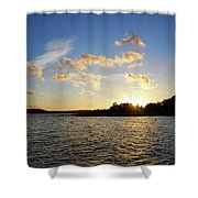 Raumanmeri Sunset Shower Curtain