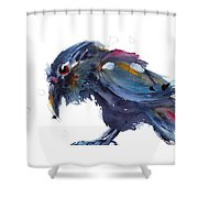 Raven 2 Shower Curtain