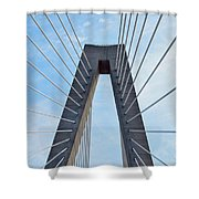 Ravenel Bridge Charleston Shower Curtain