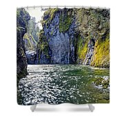 Ravine Of Color Shower Curtain