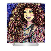 Ravishing Beauty Shower Curtain