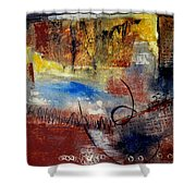 Raw Emotions Shower Curtain