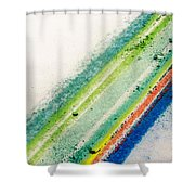 Raw Shower Curtain