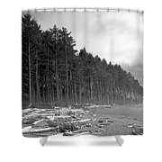 Raw Nature Shower Curtain