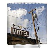 Rawhide Motel Shower Curtain